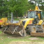 Plant Hire, Groundworks, Ark, NM Jones Plant and Groundworks Limited, Corsham, Wiltshire