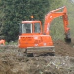 Plant Hire, Groundwork, South Wraxhall, NM Jones Plant and Groundworks Limited, Corsham, Wiltshire